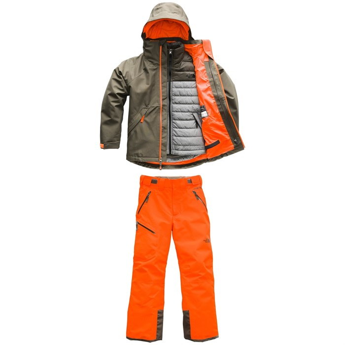 The North Face - Fresh Tracks GORE-TEX Triclimate Jacket + GORE-TEX Pants - Boys'