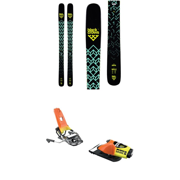 Black Crows - Atris Skis + Look Pivot 18 Ski Bindings 2019