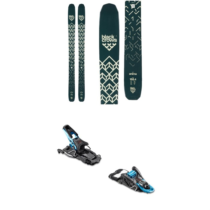 Black Crows - Anima Skis + Salomon S/Lab Shift MNC Alpine Touring Ski Bindings 2019