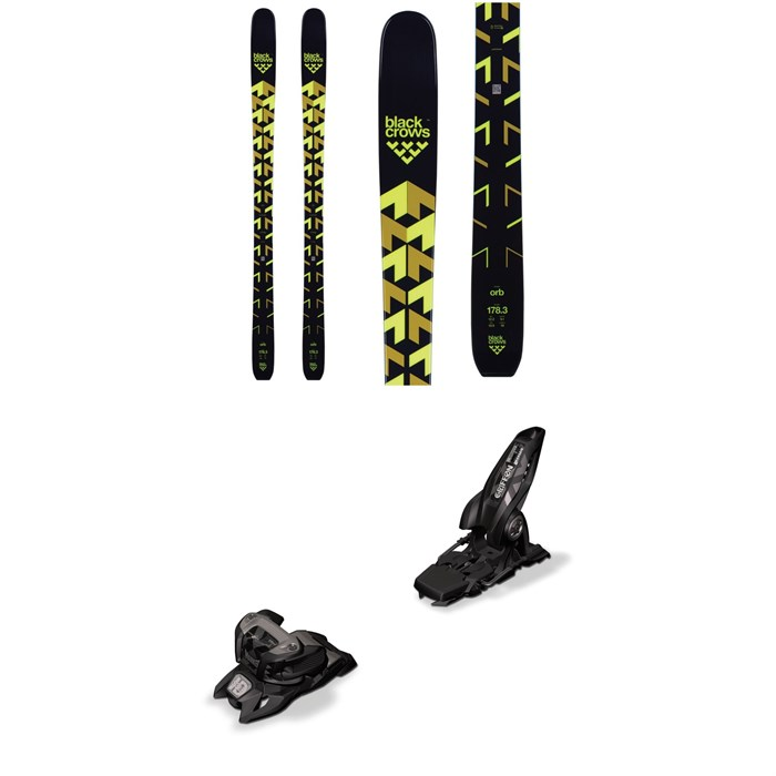 Black Crows - Orb Skis + Marker Griffon 13 ID Ski Bindings 2019