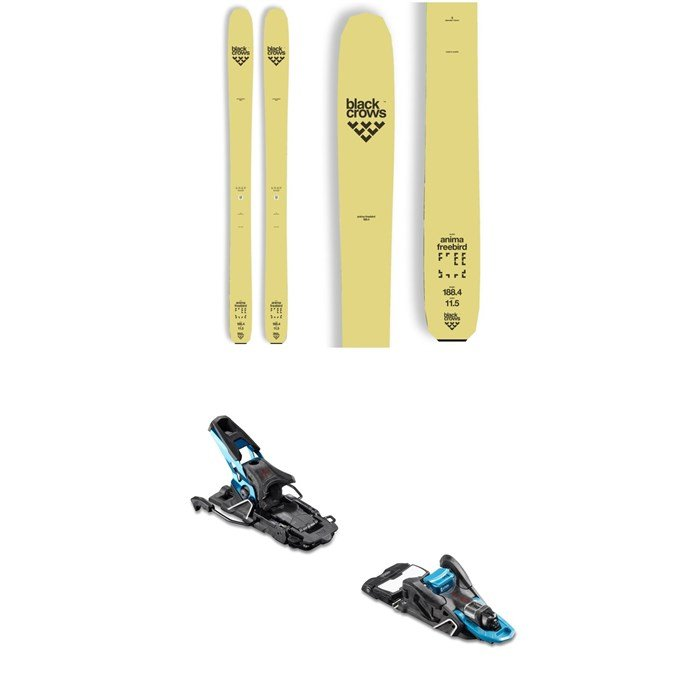 Black Crows - Anima Freebird Skis + Salomon S/Lab Shift MNC Alpine Touring Ski Bindings 2019