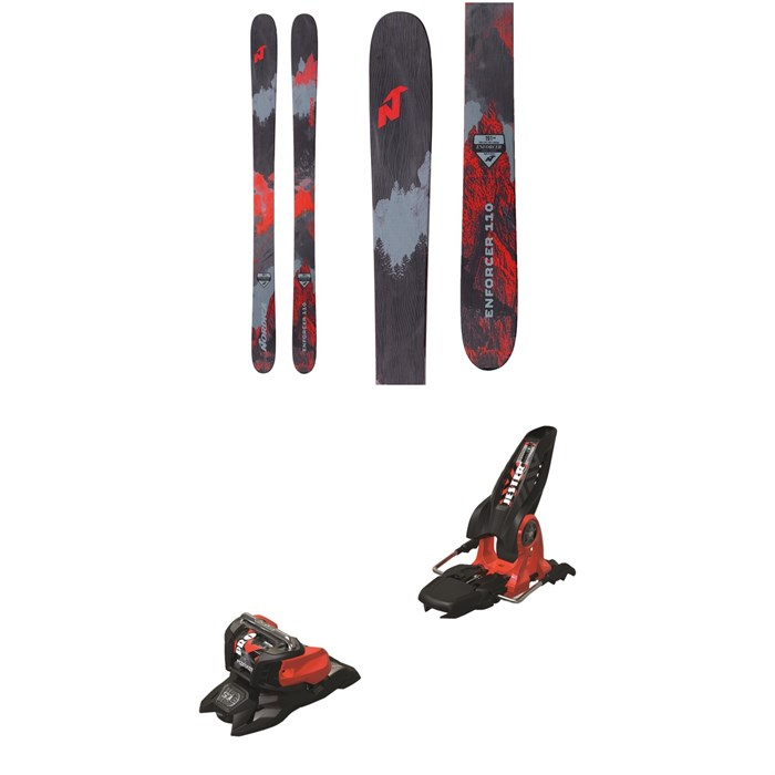 Nordica - Enforcer 110 Skis + Marker Jester 18 Pro ID Ski Bindings 2019