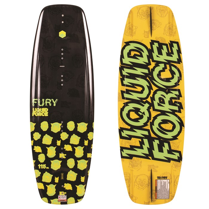 Liquid Force - Fury Wakeboard - Boys' 2019