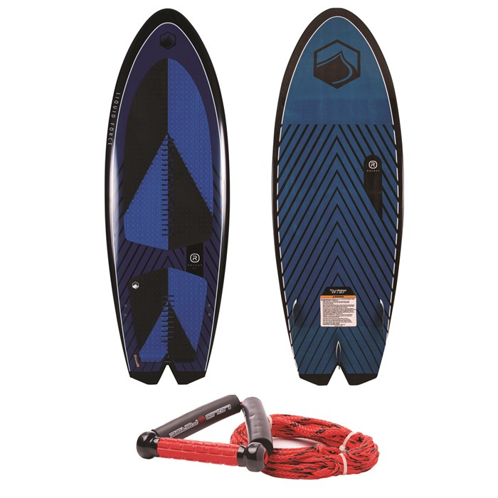 Liquid Force - Rocket Wakesurf Board with Surf Rope 2019