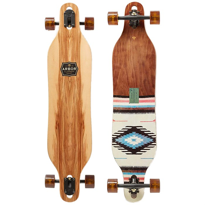 "Arbor - Axis 40"" Flagship Longboard Complete"