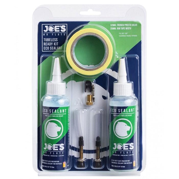 Joe's No Flats - Eco Sealant Tubeless Ready Kit