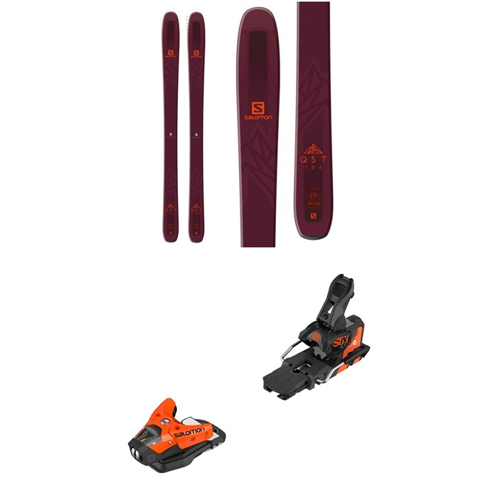Salomon - QST 106 Skis + STH2 WTR 13 Ski Bindings 2019