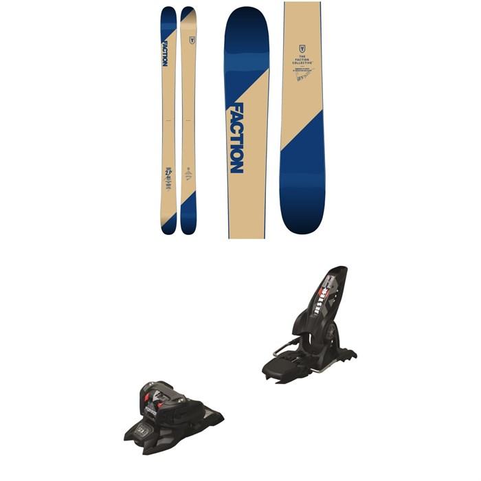 Faction - Candide 2.0 Skis 2019 + Marker Jester 16 ID Ski Bindings 2019