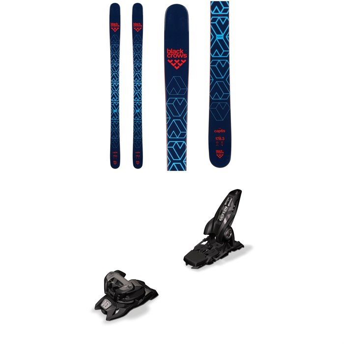 Black Crows - Captis Skis + Marker Griffon 13 ID Ski Bindings 2019