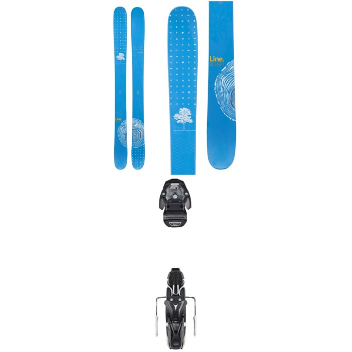 Line Skis - Sir Francis Bacon Shorty Skis + Atomic Warden MNC 11 Bindings 2019