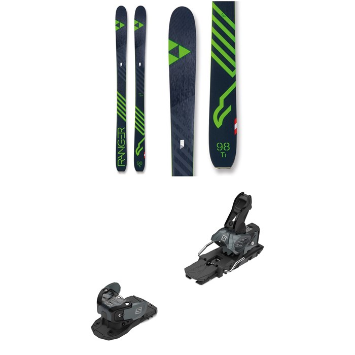 Fischer - Ranger 98 Ti Skis + Salomon Warden MNC 13 Ski Bindings 2019