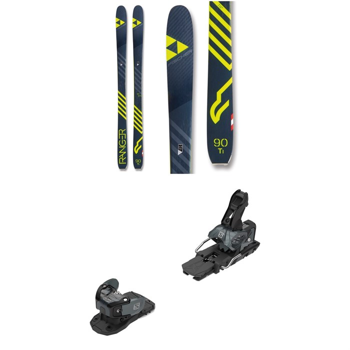 Fischer - Ranger 90 Ti Skis + Salomon Warden MNC 13 Ski Bindings 2019