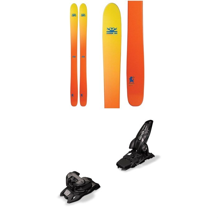 DPS - Wailer 112 Foundation Skis + Marker Griffon 13 ID Ski Bindings 2019
