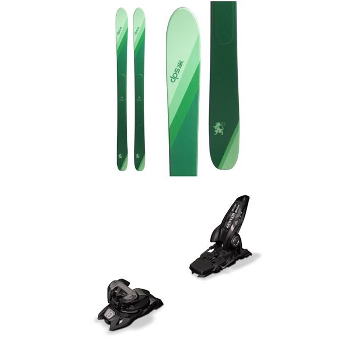 DPS - Wailer 106 Alchemist SE Skis + Marker Griffon 13 ID Ski Bindings 2019