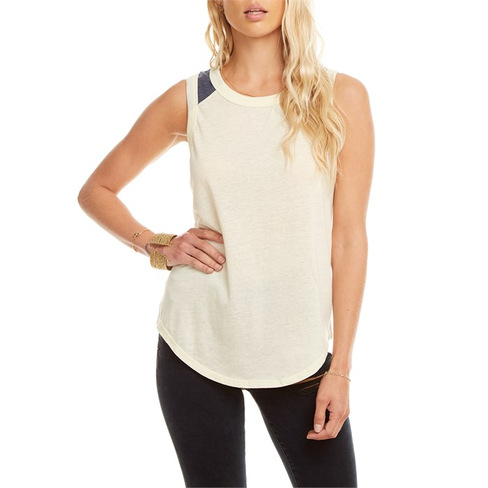 Chaser - Blocked Jersey Tank Top - Women's