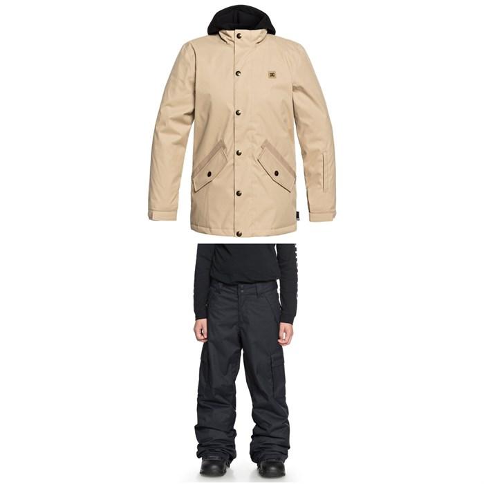 DC - Union Jacket + DC Banshee Pants - Boys'