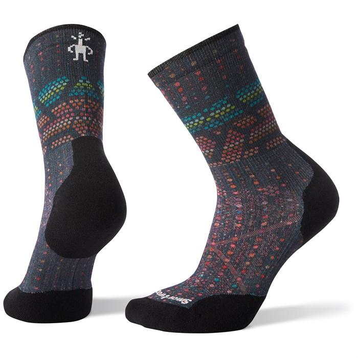 Smartwool - PhD® Run Light Elite Print Crew Socks - Women's