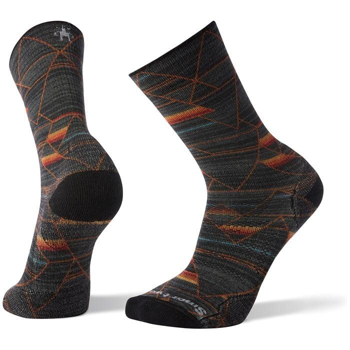 Smartwool - PhD® Outdoor Light Margarita Print Crew Socks
