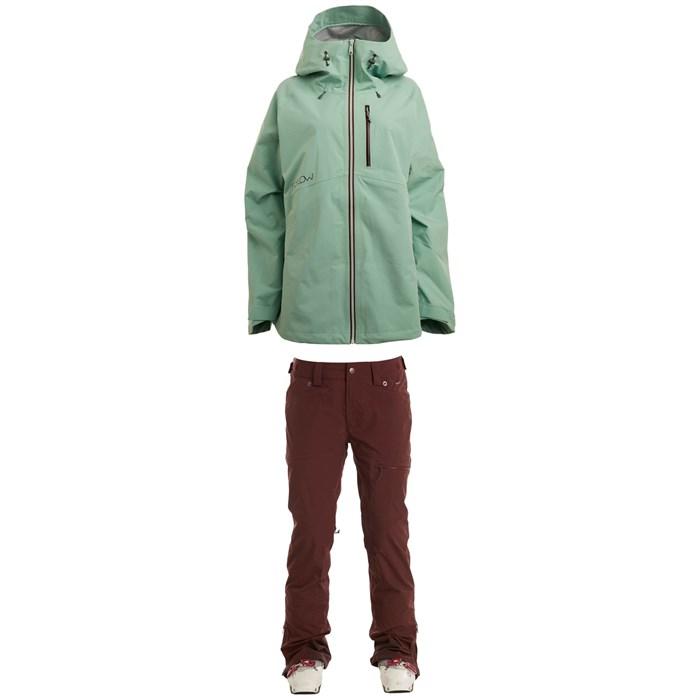 Flylow - Puma Jacket + Flylow Sassyfrass Pants - Women's