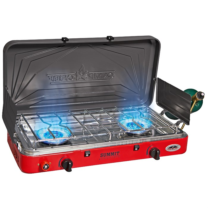 Camp Chef - Summit Two-Burner Camping Stove