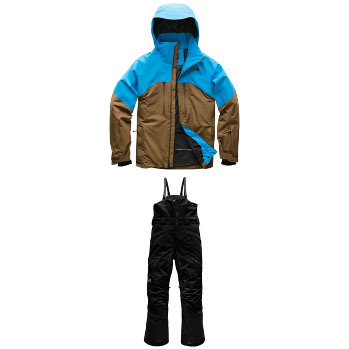 The North Face - Powder Guide Jacket + Free Thinker Bib Pants