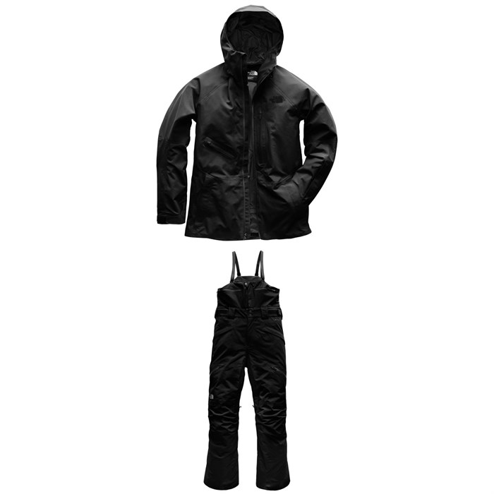 The North Face - Powderflo Jacket + Free Thinker Bib Pants