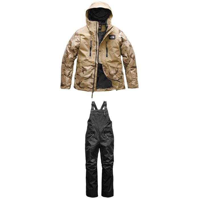 The North Face - Superlu Jacket - Women's + Shredromper Bibs - Women's