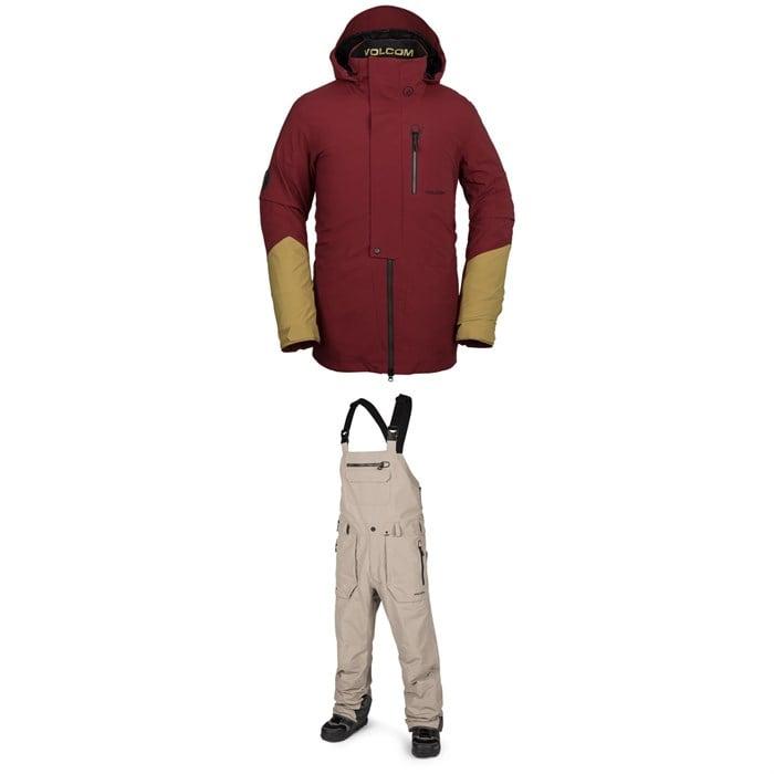 Volcom - BL Stretch GORE-TEX Jacket + Rain GORE-TEX Bib Overalls