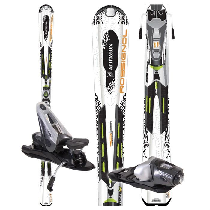 Rossignol - Attraxion XI Mutix Skis + Bindings - Women's - Used 2008