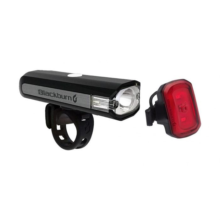 Blackburn - Central 350 Micro Front + Click USB Rear Bike Light Set