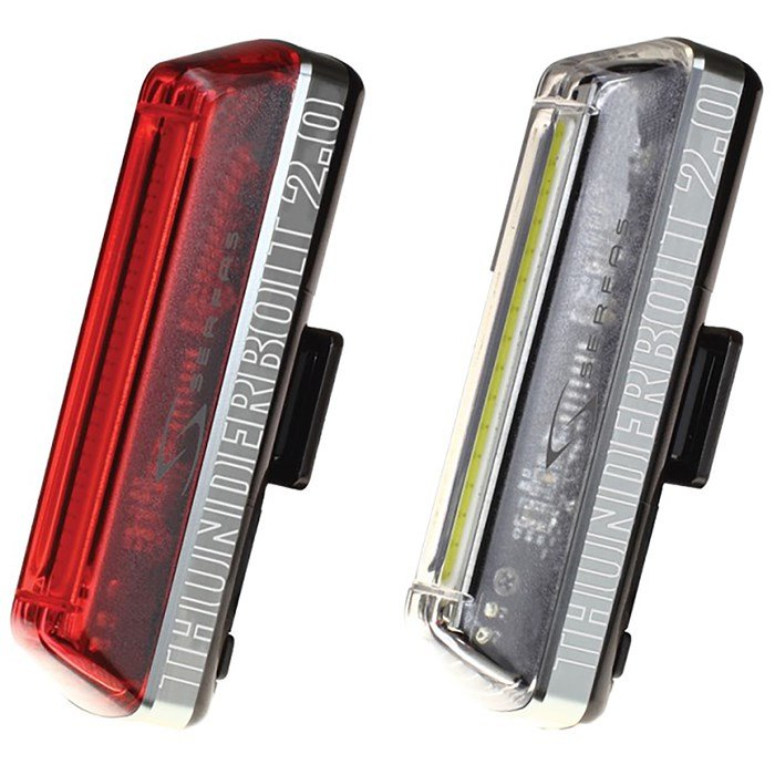 Serfas - Thunderbolt 2.0 Combo Bike Light Set