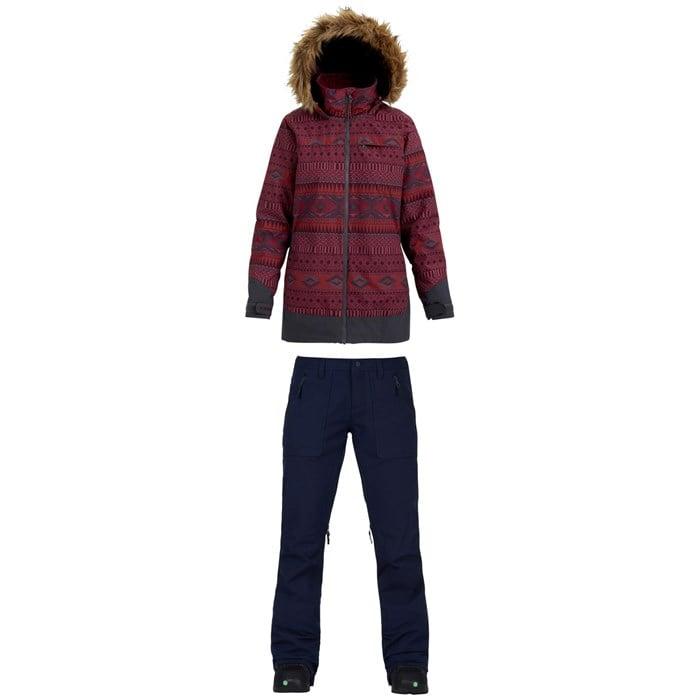 Burton - Lelah Jacket - Women's + Burton Vida Pants - Women's
