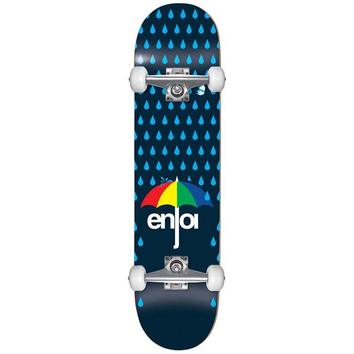 Enjoi - Raining Panda Resin Soft Wheel 7.625 Skateboard Complete