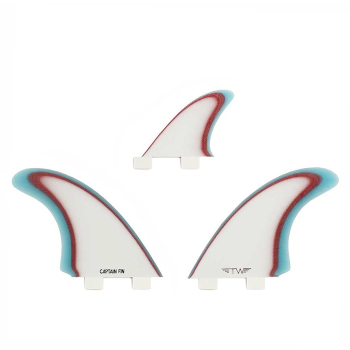 Captain Fin - Tyler Warren Twin ESP Twin Tab Fin Set