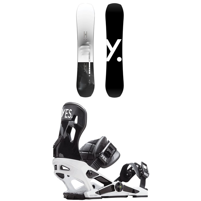 Yes. - Standard Snowboard + Now x Yes. Snowboard Bindings 2019