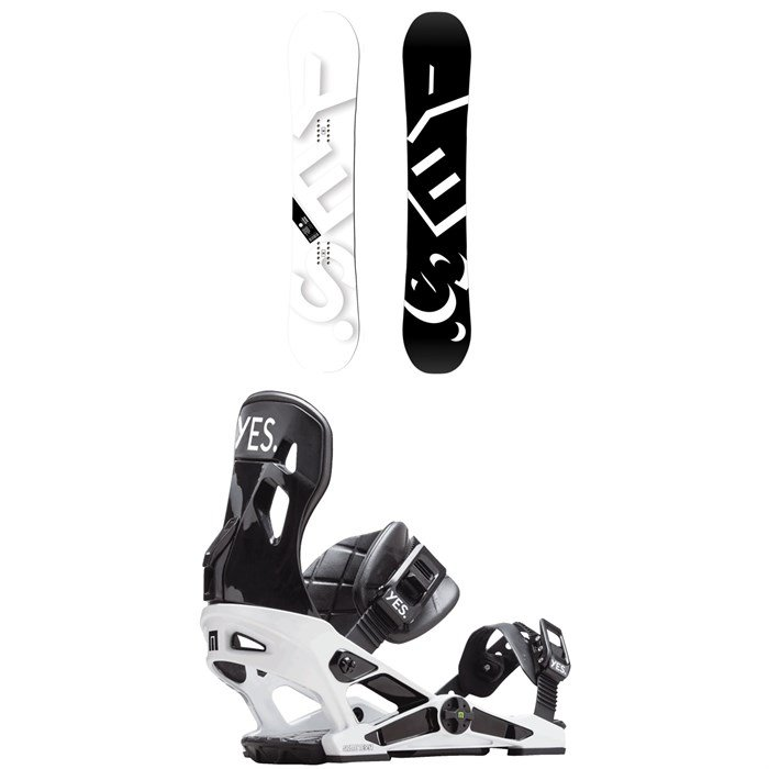 Yes. - Basic Snowboard 2019 + Now x Yes. Snowboard Bindings 2019