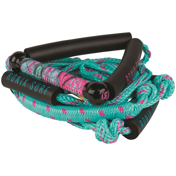"Ronix - 10"" Surf Handle + 25 ft Bungee Surf Rope - Women's"