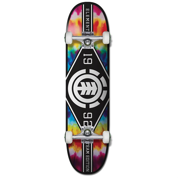 a0ca41620e Element - Tie Dye Major League 8.0 Skateboard Complete
