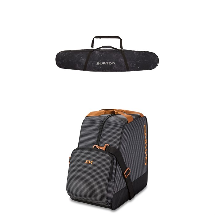 Burton - Space Sack Snowboard Bag + Dakine Boot Bag 30L