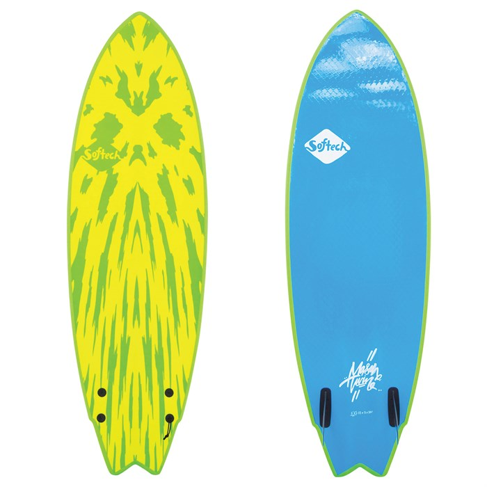 Softech - Mason Twin FCS II 5'6 Surfboard