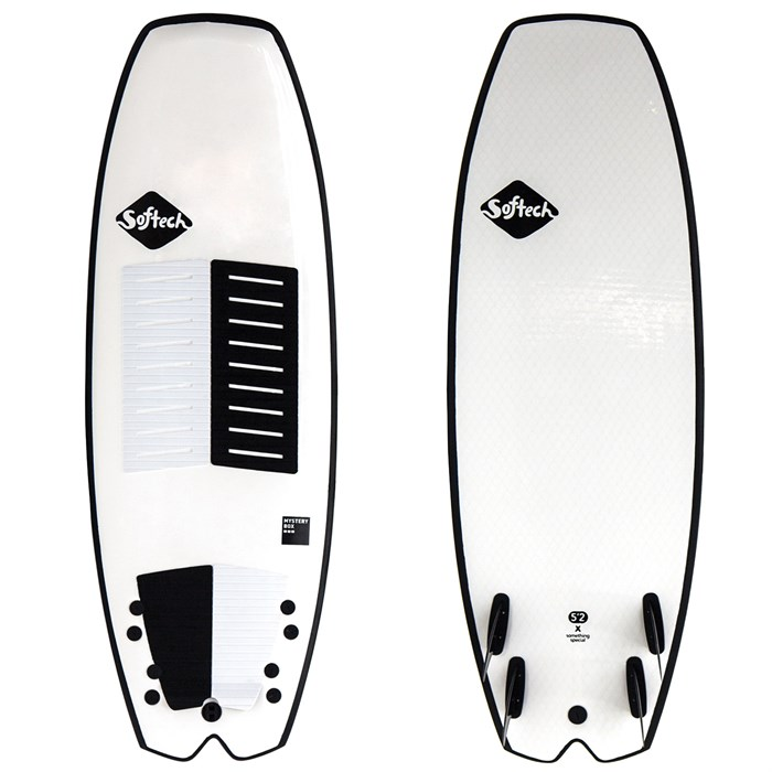 Softech - Mystery Box FCS II 5'2 Quad Surfboard