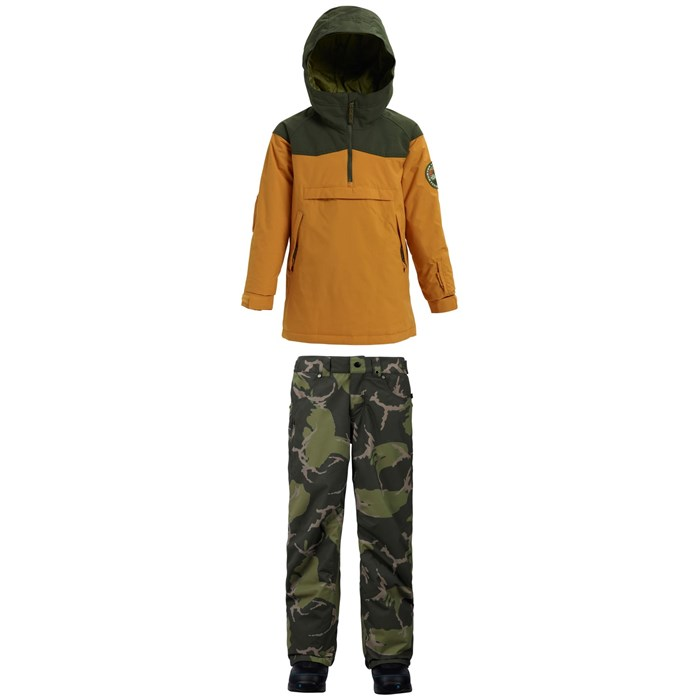 Burton - Hightrack Anorak Jacket + Burton Barnstorm Pants - Boys'