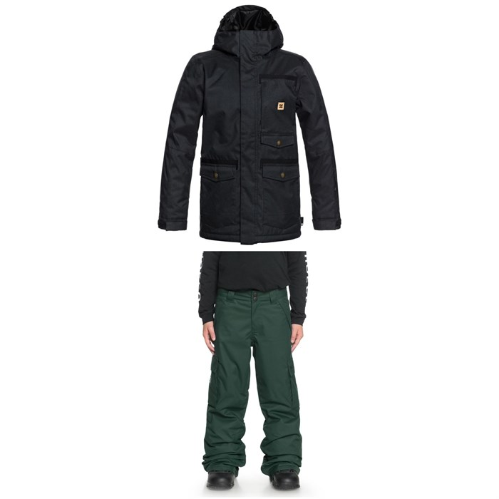 DC - Servo Jacket + DC Banshee Pants - Boys'