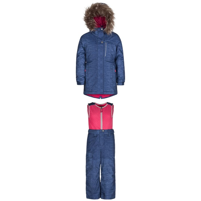 Jupa - Stella Jacket + Beatrice Bib Pants - Little Girls'