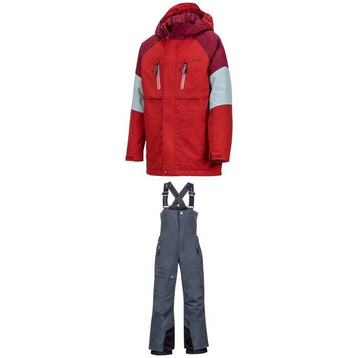 Marmot - Gold Star Jacket + Rosco Bibs - Big Boys'