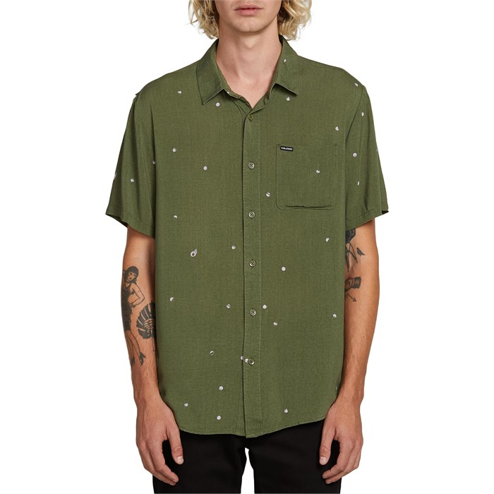Volcom - Hole Punch Short-Sleeve Shirt