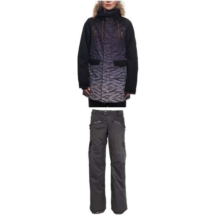 686 - Ceremony Insulated Jacket + Mistress Insulated Cargo Pants - Women's