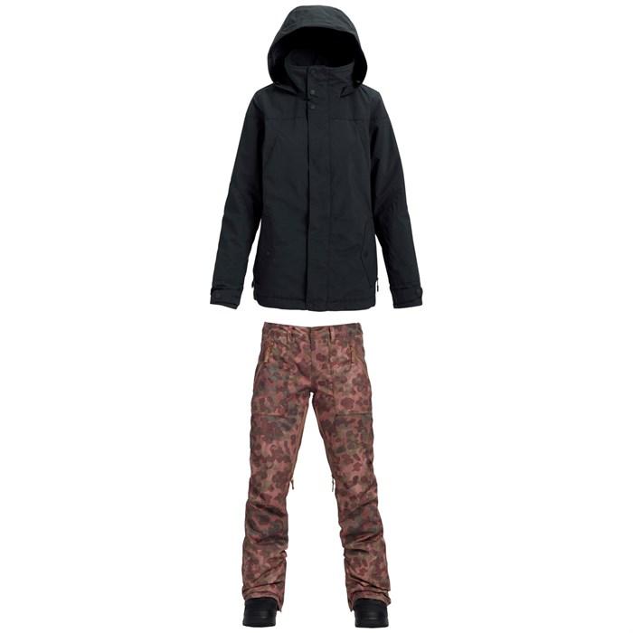 Burton - Jet Set Jacket + Burton Vida Pants - Women's