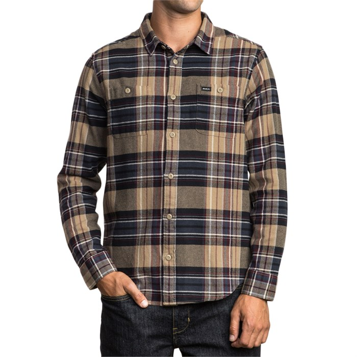 RVCA - Ludlow Plaid Flannel Shirt