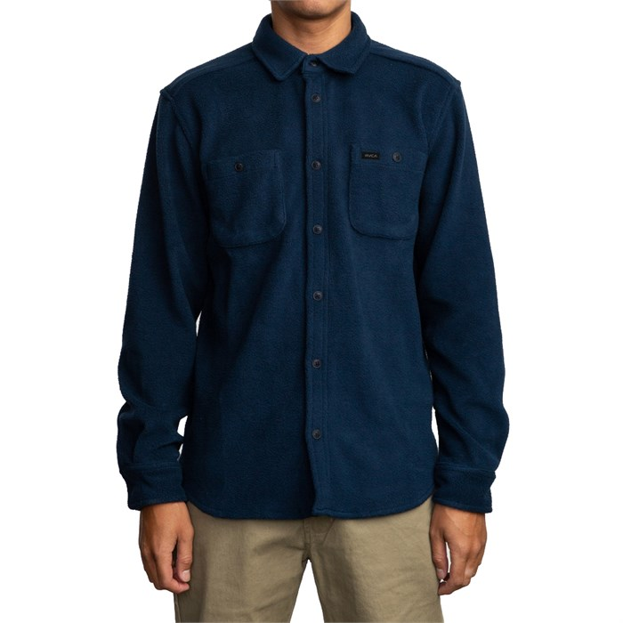 RVCA - Uplift Fleece Button-Up Shirt